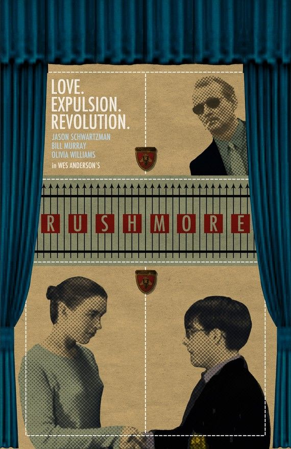 Wes Anderson's Rushmore, 1998.
