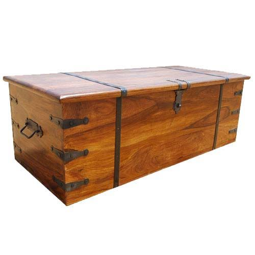 Large Solid Wood with Metal Accents Storage Trunk Coffee Table Chest - 25+ Best Ideas About Trunk Coffee Tables On Pinterest Tree Trunk