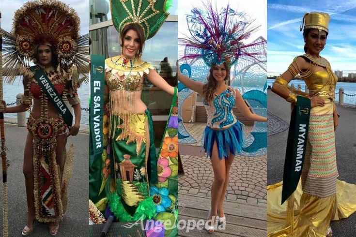 Miss Earth 2015 delegates Filming in National Costumes in Austria
