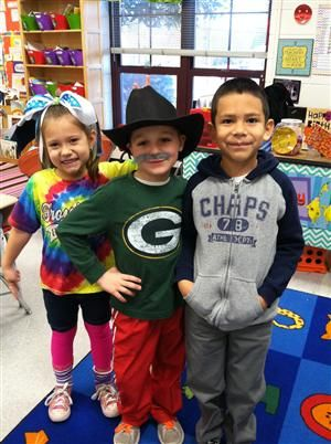 Wacky Tacky Day Kindergarten | We are here to learn reading, writing, and math. We will do this by ...