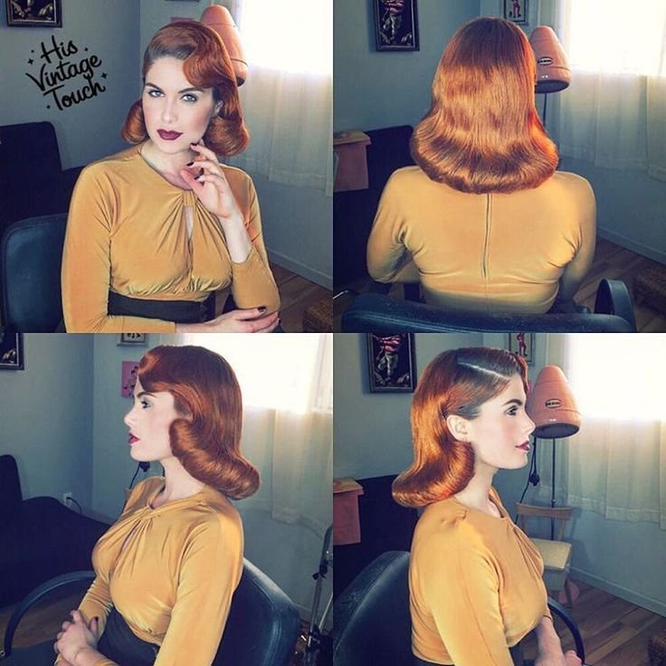 """Here is this full view #1940s look on @DorisMayDay! Hair kept smooth by @suavecitapomade's #groomingspray! Hair kept in place by my favorite hairspray…"""