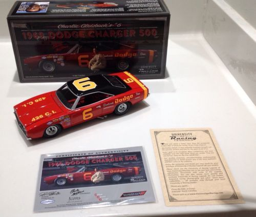 "1969 1/24 #6 Charlie Glotzbach ""Cotton Owens/Dodge Charger 500"""