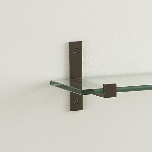Set of 2 Styles Bronze Shelf Brackets
