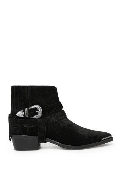 Ankle boots aus wildleder - Schuhe für Damen   OUTLET