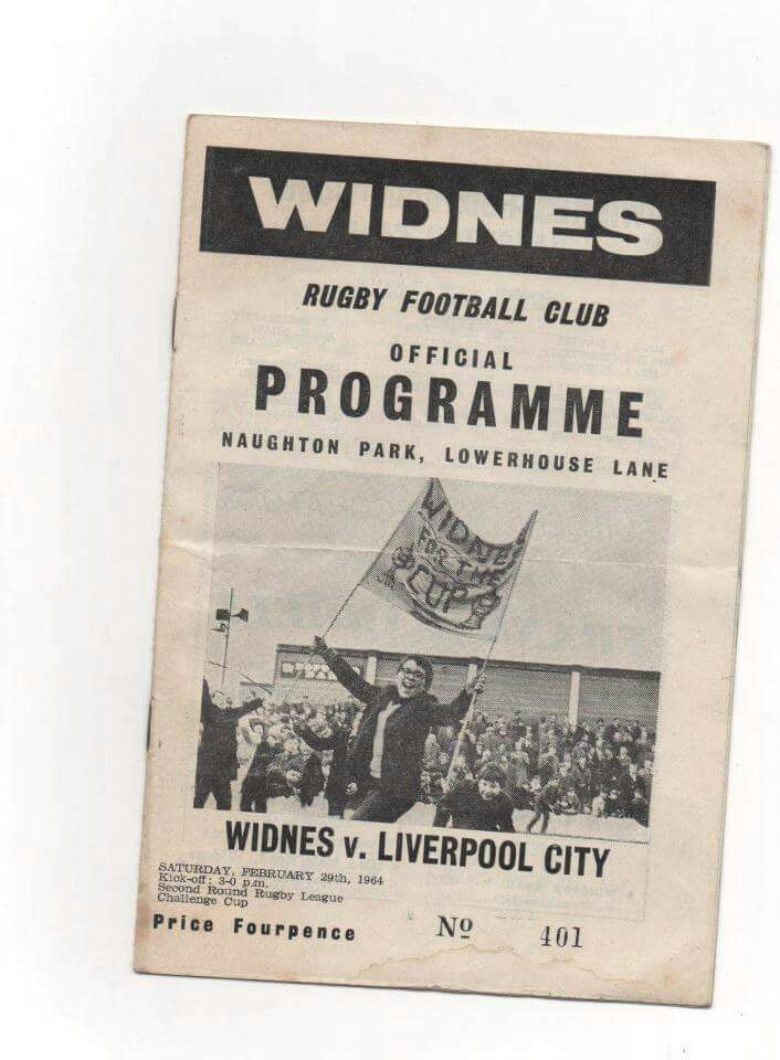 OLD WIDNES PROGRAMME