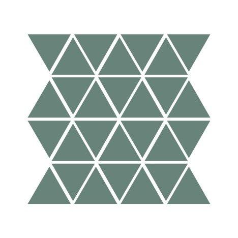 "Clayhaus Ceramic 2 3/8"" Triangle- Choose Your Color"
