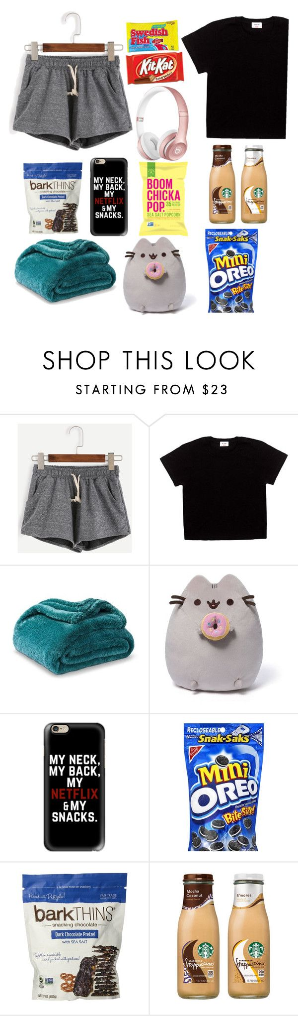 """""""Sick day essentials"""" by fashionangel8908 ❤ liked on Polyvore featuring Beats by Dr. Dre, Gund and Casetify"""