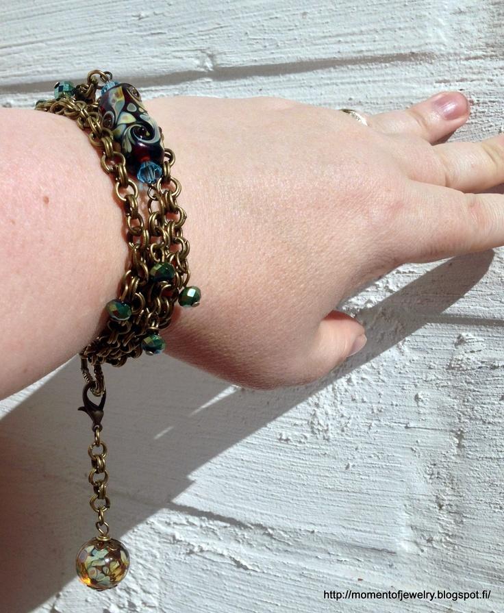Bracelet http://momentofjewelry.blogspot.fi/2013/04/bsbp-3rd-reveal.html
