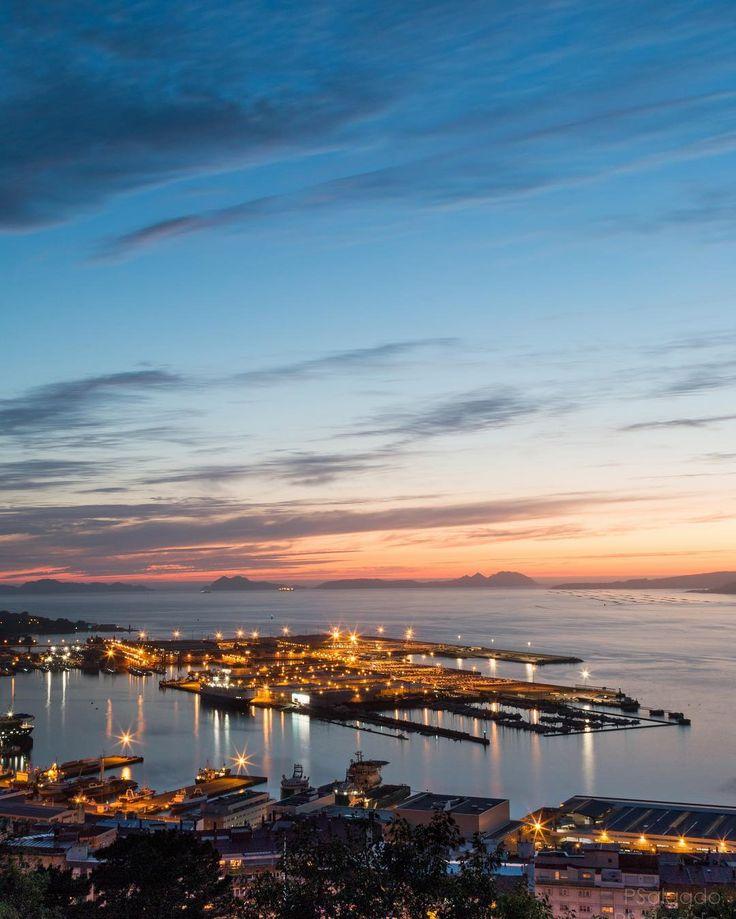 Puerto de #Vigo vía @pabsalga #Galicia #SienteGalicia