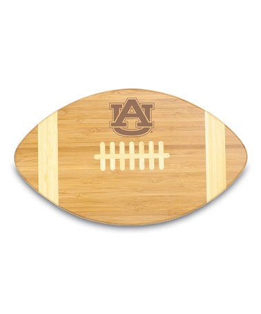 good idea for game day =)Take a look at this Auburn Touchdown! Cutting Board by Tailgate Essentials Collection on #zulily today!