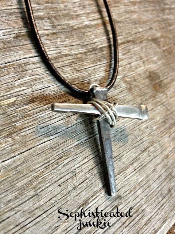 1000 Images About Horseshoe Nail Crosses On Pinterest