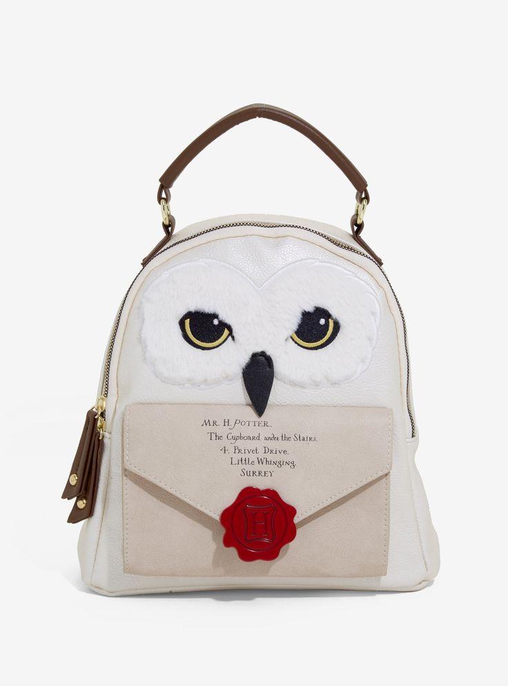 Harry potter hedwig hogwarts letter mini backpack