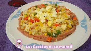 Receta de Ensalada de Arroz primavera: Salad, Saladas Ensaladas, De Ensalada, Salt Recipes
