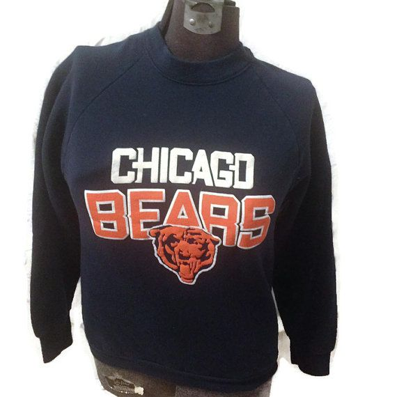 80's Chicago Bears Sweater / 980's Football by RetroFreshTees