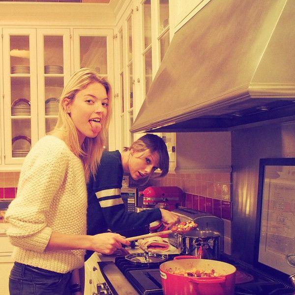 The Kitchen - Taylor Swift's Tribeca Penthouse - Lonny