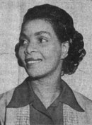 Irene Amos Morgan (1917–2007), Gloucester County / Principal in a Civil Rights Case / 2012 African American Trailblazer