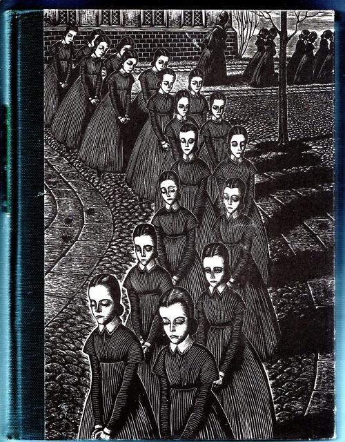 Random House Jane Eyre 1943. Beautiful printmaking.