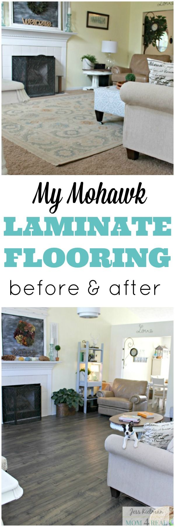 In this post, I want to share the before and after photos of our new Mohawk Laminate Floors! I am so excited to share the final before and after photos of our new Mohawk Laminate Floors! We are so greatful to have teamed up with Mohawk...Read More »