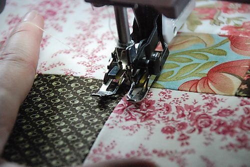 Machine quilting explained so well. I AM going to figure this out!