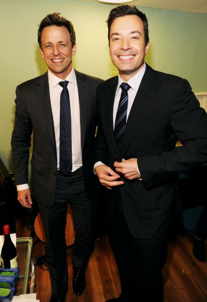Seth Meyers & Jimmy Fallon- Can words express how I love these men?