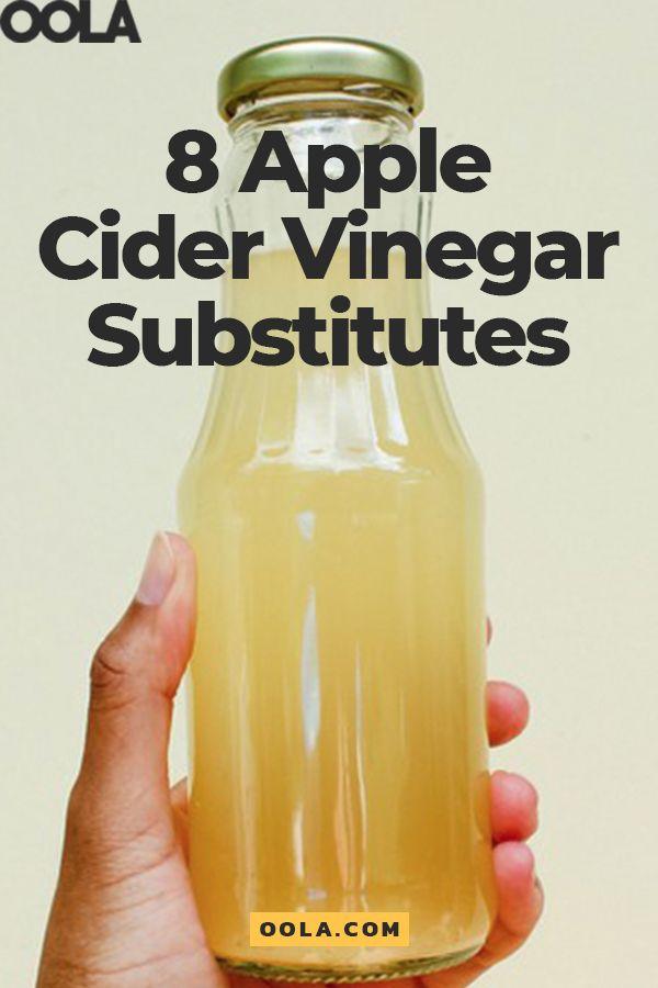 8 Effective Apple Cider Vinegar Substitutes | Apple cider ...