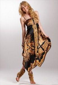 earp-desenli-siyah-elbise