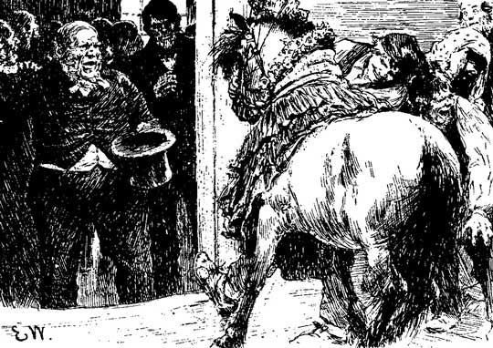 A comical folk tale- the bride of the squire (?) not translatable for me unfortunately.. anyway, this fat, ugly old land owner wants to marry a farmers pretty young daughter, but she refuses, so they dress up a pore horse instead, presenting her to the husbond to be.