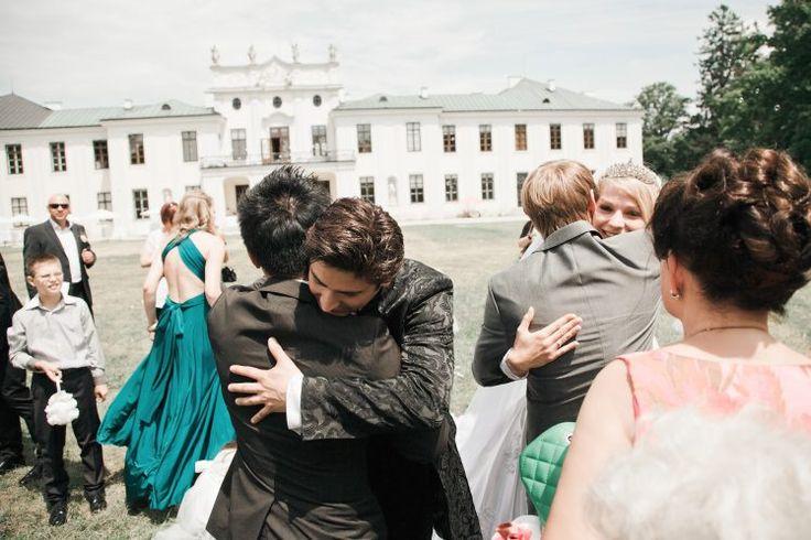 Schloss Hetzendorf in Vienna. Wedding congratulations.
