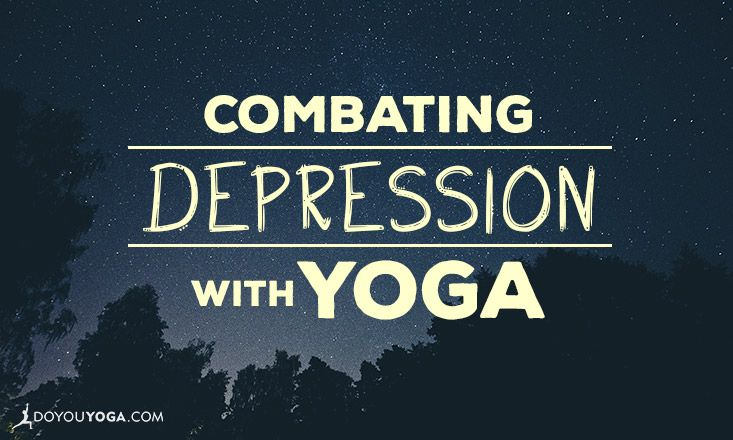 An excellent read on why and how #yoga helps with #depression. <3 Share to spread the #yogalove and reach those who could use the help <3 http://www.doyouyoga.com/combating-depression-with-yoga/