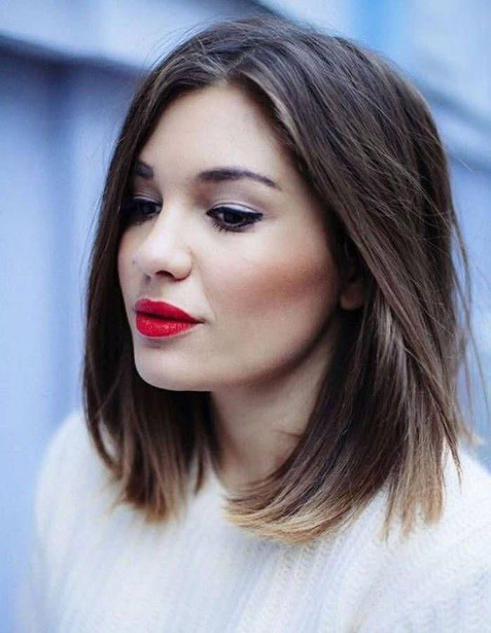 Coiffure visage rond femme cheveux fins - 40 coiffures canon pour les visages ronds - Elle