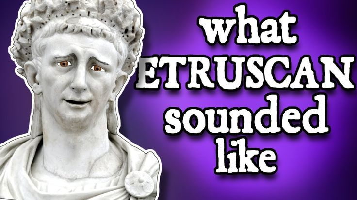 What Etruscan sounded like and how we know Italy's lost language? They gave Rome the alphabet, but we hardly know them. Here's how we pieced together the extinct language of an early Italian civilization.
