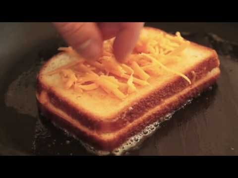 Food Wishes Recipes - Inside-Out Grilled Cheese Sandwich - Ultimate Cheese Sandwich