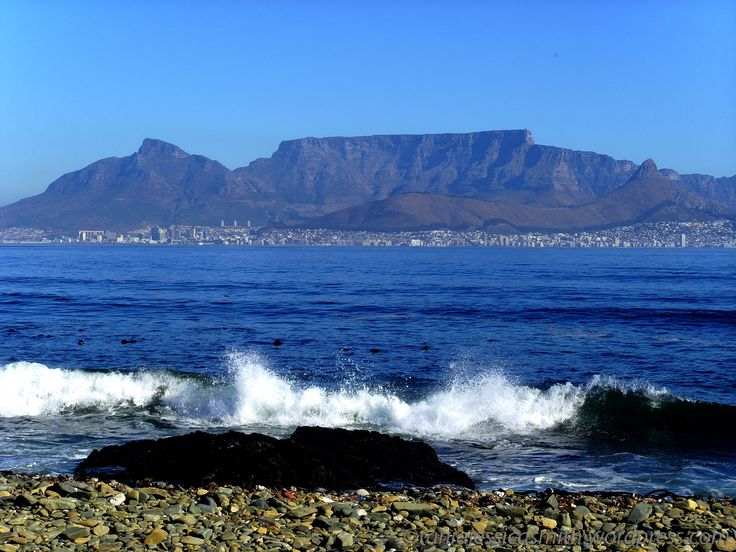 Table Mountain South Africa   Table Mountain View, Robben Island, South Africa   taniajessicasmith