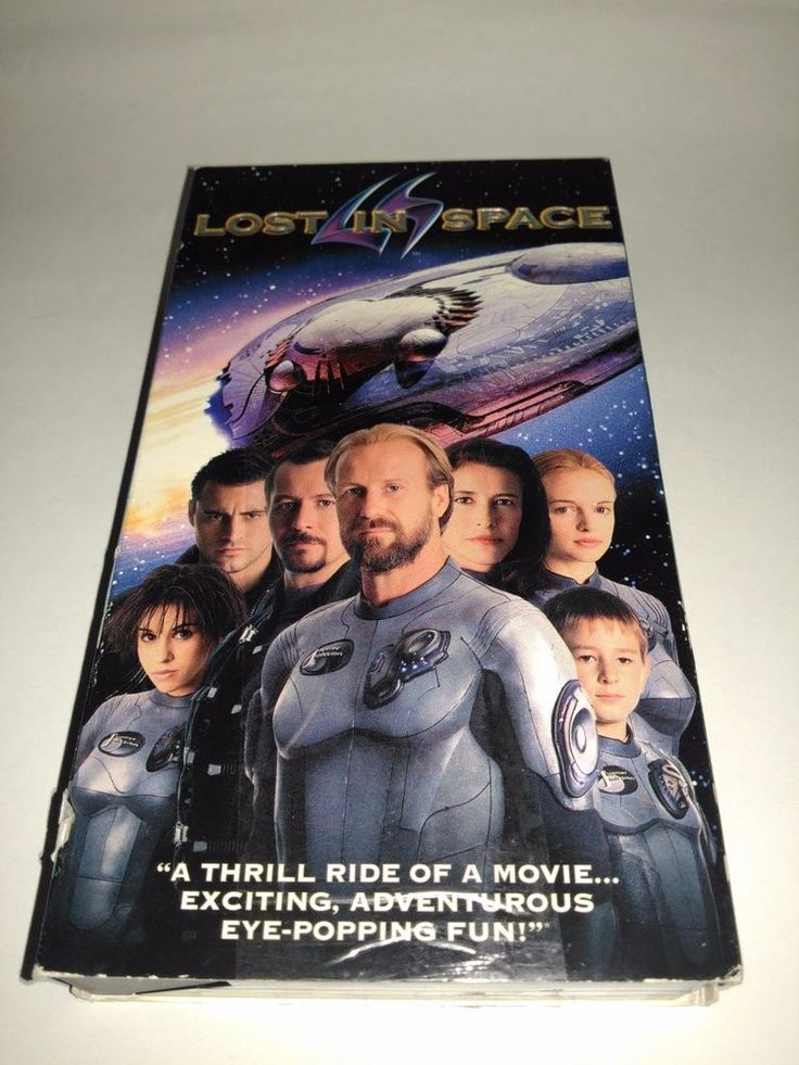 Lost In Space (VHS, 1999) Heather Graham, Gary Oldman, William Hurt, Mimi Rogers