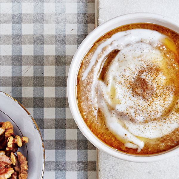 This Hemsley and Hemsley buckwheat porridge makes for a healthy and filling breakfast recipe. It