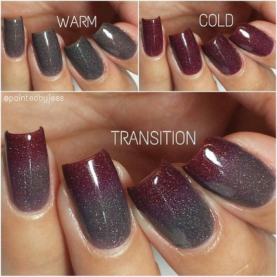 I Want This Thermal Polish Feeling Vampy By Fancy Gloss