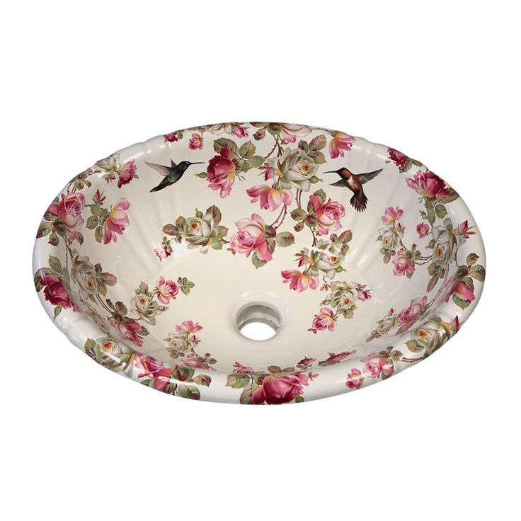 31 Best Images About Floral Hand Painted Sinks Amp Toilets