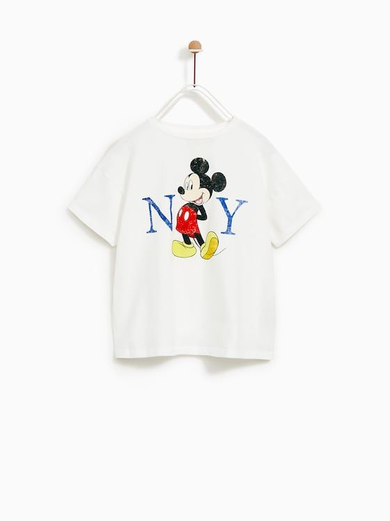 11569c83 Ny mickey© t-shirt | Disney Clothes | Zara kids, Kids fashion ...