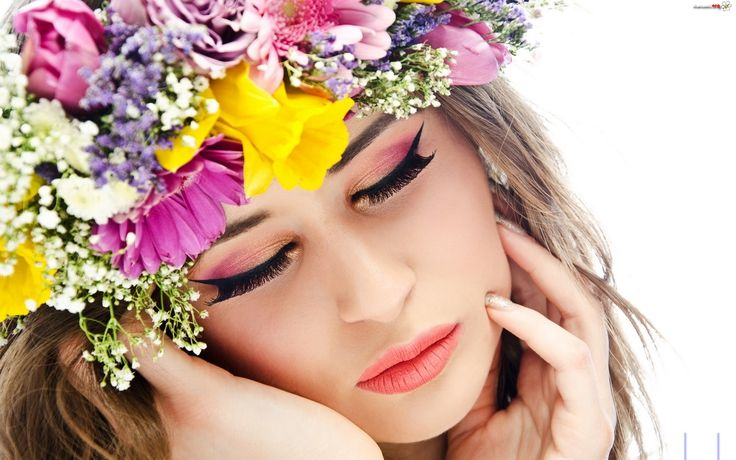 makijaż kwiaty - Szukaj w Google
