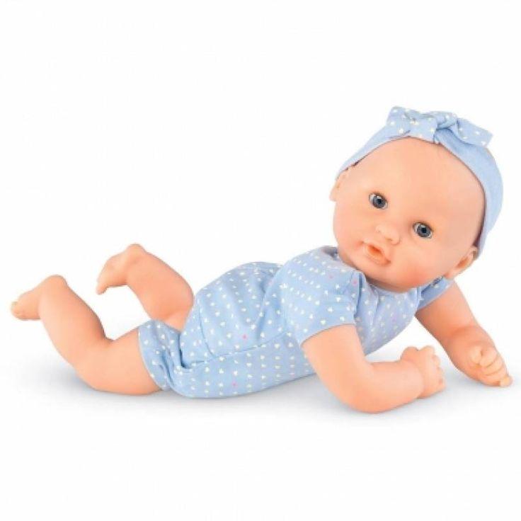 Corolle popje 30 cm met lichtblauwe basiskleding   Speelgoed Kiki