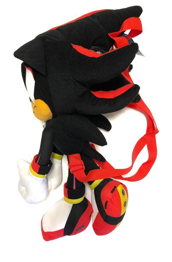 Collectibles Animation Art Characters Cute Sonic The Hedgehog Shadow Amy Sonic Black Plush Cap Cosplay Hat New Japanese Anime Zsco Iq
