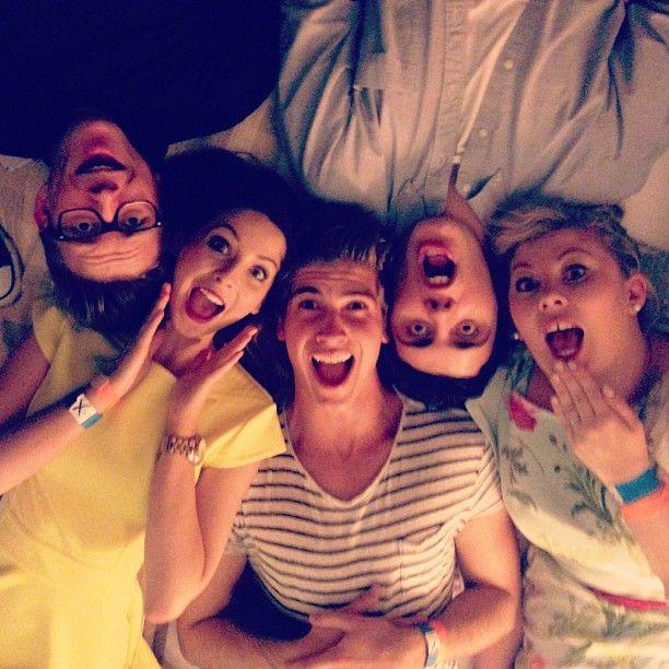 Tyler, Zoe, Joey, Alfie and Louise