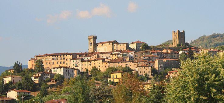 Castello di Ghivizzano, Riprese aeree Drone
