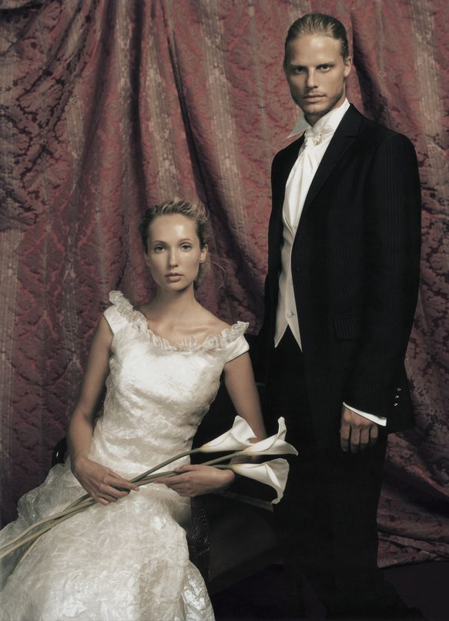 The top model Arnaud Lemaire for Carlo Pignatelli Cerimonia 2004 adv! #carlopignatelli #arnaudlemaire #cerimonia #sposo #sposa #groom #bride #fashion #style #adv