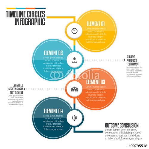 Best  Circle Infographic Ideas On   Data