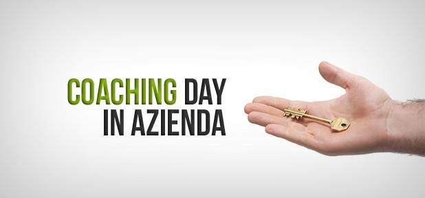 Il Coaching Day è una occasione irripetibile!  Ti offriamo un'intera giornata con un Coach Professionista nella tua Azienda.