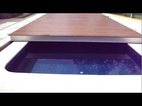DECK DE PISCINA RETRÁTIL. - YouTube