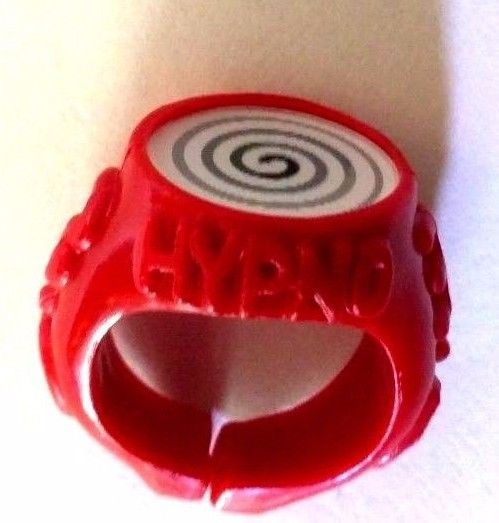 Super Rare Captain Underpants 3-D Hypno Ring  New  Movie-  Lil Wiseguy