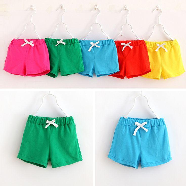 V-TREE capretti di VENDITA CALDA estate pantaloncini di cotone delle ragazze dei ragazzi pantaloncini di cotone della caramella marchio di abbigliamento shorts abbigliamento bambino
