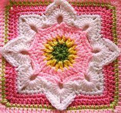 Free Crochet Patterns: Free Crochet Patterns: More Granny Square Motifs:
